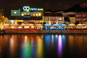 Fourth Stop – Clarke Quay